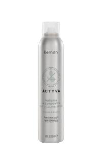 Actyva volume e corposità dry volume spray 200 ml bolli - fronte.png