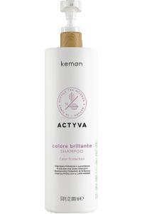 Actyva colore brillante shampoo 1000 ml bolli - fronte.png