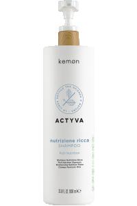 Actyva nutrizione ricca shampoo 1000 ml bolli - fronte.png