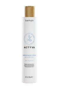 Actyva nutrizione ricca shampoo 250 ml bolli - fronte.png
