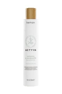 Actyva volume e corposità shampoo 250 ml bolli - fronte.png